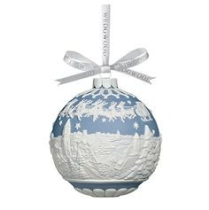Wedgwood Christmas ornament