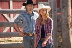 Caleb and Amy - Season 7 Heartland Season 7, Heartland Actors, Watch Heartland, Heartland Ranch, Heartland Tv Show, Ty And Amy, Amber Marshall, Canadian Actresses, Country Girls