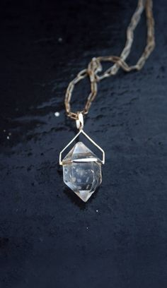 herkimer diamond by GreenEyedGypsy