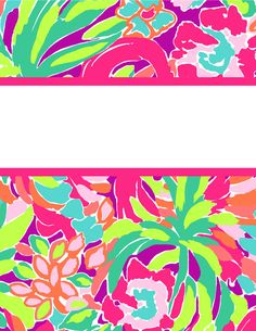 photograph about Lilly Pulitzer Printable Binder Covers named lilly pulitzer binder addresses templates - Mozo