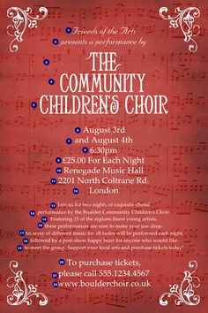 background for gospel choir poster