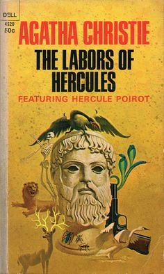 The Labors of Hercules by Agatha Christie.  Golden Age British crime fiction, US paperback edition.
