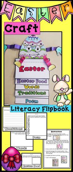 Easter Craft Easter Literacy