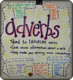 Step into 2nd Grade with Mrs. Lemons: Adverbs :)