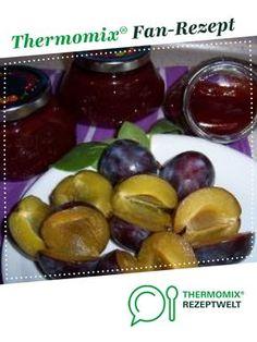 Pflaumenmarmelade mit Zimt von Carcassi. Ein Thermomix ® Rezept aus der Kategorie Saucen/Dips/Brotaufstriche auf www.rezeptwelt.de, der Thermomix ® Community.