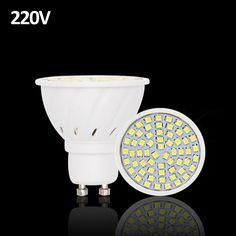 20 cái Lampada Đèn LED GU10 220 V Luz De 2835 Ống DẪN bóng đèn E27 Spot Lamparas Bombillas DẪN Bóng Đèn Thắp Sáng Spotlight MR16 BEILAI
