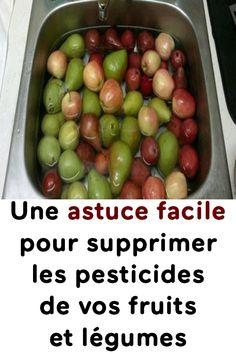 Une astuce facile pour supprimer les pesticides de vos fruits et légumes Food, Cherry Tomatoes, Fruits And Veggies, List Of Foods, Essen, Meals, Yemek, Eten