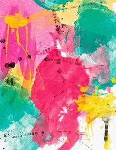 abstract watercolor II