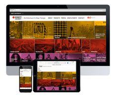 Website for RMIT School of Architecture & Urban Design  This very complex web project involved the website design and development of a portal to showcase the extensive projects and research from the RMIT School of Architecture and Design. It proved to be successful in raising the profile of the school, both nationally and internationally.