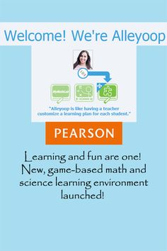 Alleyoop, an online, game-infused strategy incubated within Pearson, one of the nation's leading education companies, has added science learning to math resources with NASA eClips, National Geographic, Scientific Minds, Patrick JMT, Virtual Nerd, Adaptive Curriculum, and Brightstorm.  Suggest your teen learner open a free account to access mathematics and science learning in a game-based environment – learn more at http://www.examiner.com/article/alleyoop-builds-out-stem-learning