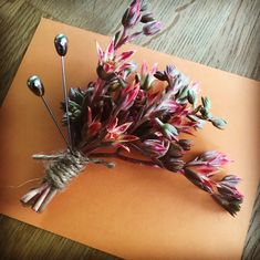 Wild bunch. #succulentflowers #corsage #boutonniere #personalflowers #weddings #fontana