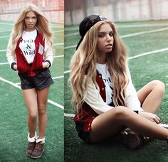 кто в волейбольчик? (by Ekaterina Normalnaya) http://lookbook.nu/look/4315191-