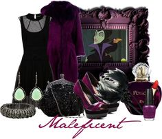 """Maleficent"" by audreyk1227 ❤ liked on Polyvore"