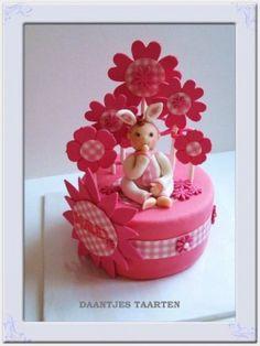 Sweet little girl - by Daantje @ CakesDecor.com - cake decorating website
