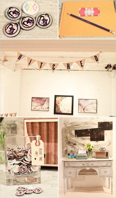 get hitched wedding sign...and guest table...girl...what do you think?