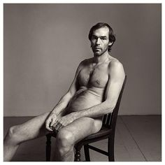 Peter Hujar (1934-1987) • Self-Portrait, Seated, 1980