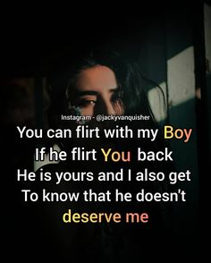 If they flirt with others they don't deserve you.💯💯 Keep you self respect above all the things. . Tag your  friend who need to see this 👇. . . Follow @jackyvanquisher for more relatable quotes. . . . . . . . . . . . . . . . #thegoodquote #powerofpositivity #explore #millionariementor #houseofleaders #motivationquotes &nbs Dont Deserve You, Power Of Positivity, Getting To Know, Flirting, You And I, Respect, Motivational Quotes, Self, Good Things
