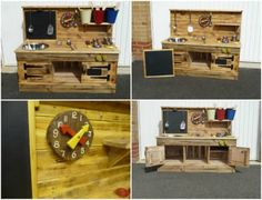 Pallet Educational Play Kitchens