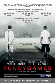 Funny Games (2007) - Michael Haneke watched this last night. All i can say is what the fuck?