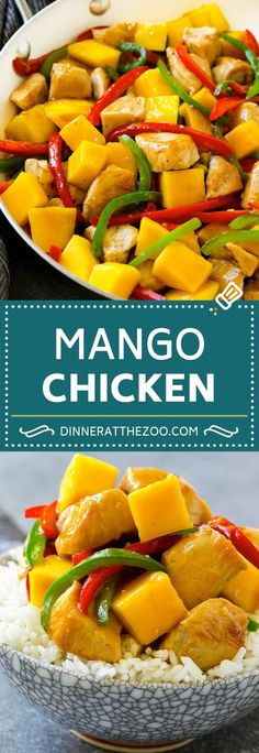 Frugal Food Items - How To Prepare Dinner And Luxuriate In Delightful Meals Without Having Shelling Out A Fortune Mango Chicken Recipe Chicken With Mango Chicken Stir Fry Best Chicken Recipes, Turkey Recipes, Recipe Chicken, Asian Recipes, Mango Chicken Recipe Easy, Chicken Stirfry Recipes, Chicken Menu, Chicken Pasta, Dinner Healthy