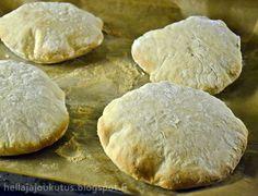 Hella & houkutus: Pulleat pitaleivät Hamburger, Bread, Baking, Food, Brot, Bakken, Essen, Burgers, Meals
