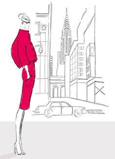 Kerrie Hess - Fashion Illustrator