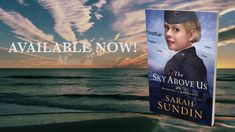 Book Trailer for The Sky Above Us by Sarah Sundin (Revell Books, Feb. 2019). US fighter pilot Lt. Adler Paxton battles the Germans in the air and his past on the ground. Can Violet Lindstrom, a Red Cross worker, help him heal the wounds that tore his brothers apart?