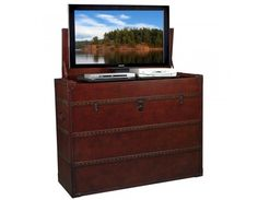 Antiquity TV Lift Cabinet by TVLiftCabinet.com