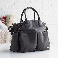 Skip Hop Chelsea Downtown Chic Black
