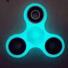 Fidget Spinner Glow In The Dark Anti Stress Toy