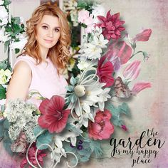 NEW*NEW*NEW  Garden Party - collection with QP´s & FWP by DitaB Designs  https://www.pickleberrypop.com/shop/manufacturers.php?manufacturerid=164  save 55%  photo Evgenia Kozhevnikova use with permission
