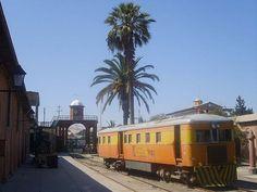 Sentinal Steam railcar FC Tacna-Arica 261 Peru. Converted to diesel by Whickham in 1938