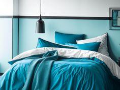 Turquoise bedding/ housse de couette