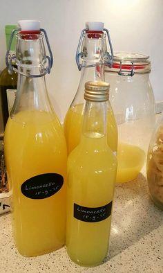 Zelf limoncello maken van wodka