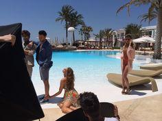 Photo shoot at Destino Pacha Ibiza Resort