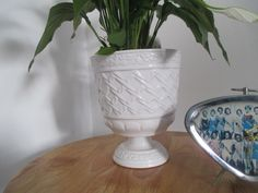 Witte bloempot www.hettoenvannu.nl