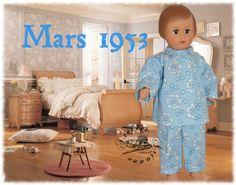 Vêtement pour poupée Modes et Travaux Marie Françoise, Françoise Mars 1953