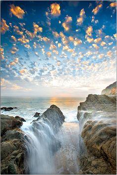 Alto-Cumulus Clouds - Malibu, California