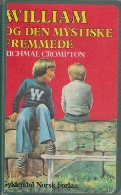 """""""William og den mystiske fremmede"""" av Richmal Crompton Den, Baseball Cards, Reading, Books, Sports, Livros, Book, Excercise, The Reader"""