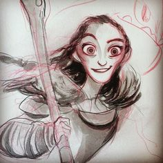 cliochiang: Can't stop won't stop drawing Valka.