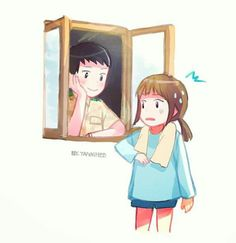 Window Moment #DoctorKang #CaptainYoo #DescendantsOfTheSun