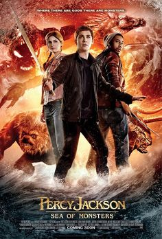 PERCY JACKSON: SEA OF MONSTERS - New International Poster