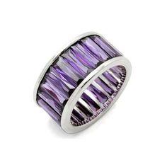 purple rings   colors tags cocktail rings purplejewelry purple rings cluster ring ...