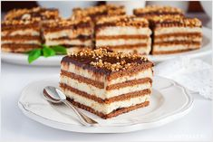 Tarta panna cotta z malinami - I Love Bake Tiramisu, Food And Drink, Sweets, Meals, Cookies, Baking, Cake, Ethnic Recipes, Panna Cotta