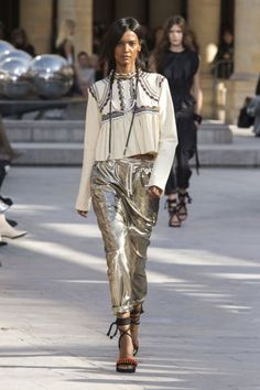 Isabel Marant Spring 2016. See all the best runway looks from Paris Fashion Week here: