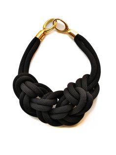 Knot Necklace by Frida & Freya Diy Jewelry, Jewelry Box, Jewelery, Jewelry Accessories, Fashion Accessories, Jewelry Necklaces, Jewelry Design, Fashion Jewelry, Jewelry Making