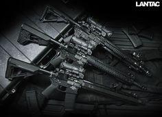 LANTAC Raven Rifles.