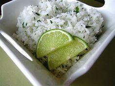 Chipotle's Cilantro Lime Rice