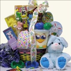 Hoppin' Easter Fun: Boy's Child Easter Basket Ages 3 to 5 Years Old #easter Plush Easter Bunny, Easter Super Coloring Book - 96 pages, Easter Crayons, Pinball Pete Game filled with Jelly Beans, Easter Game Card - Go Fish, Hearts or Old Maid, Wooden Easter Paddleball Game, Easter Bunny Bull's-Eye Game, Vinyl Mini Easter Beach Ball, Easter Character Gummy Lollipop Bouquet, Easter Peeps Yellow Chicks, Easter Candy Corn, Fun Sweets Cotton Candy Tubs - either a Bunny or Chick, Niagara Milk Chocolate