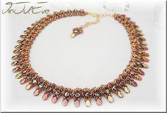Schema necklace Hipona by Vinjuleve on Etsy